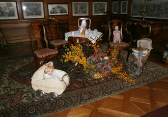 Autumn holiday at the castle, autumn exhibition 2015