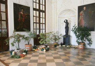 Indian Summer at the Castle, Autumn Flower Exhibition 2016