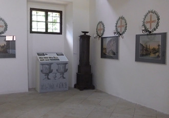 Hugo František Salm, pioneer of the industrial revolution, exhibition in chateau chapel 2017 Author: Jitka Sedlářová