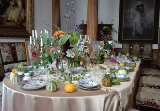Indian Summer at the Castle, Autumn Flower Exhibition 2017